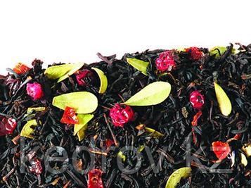 Чай Брусничный (черный ароматизированный)  0,5 кг