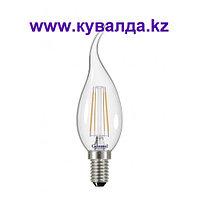 Энергосберегающая светодиодная лампа General Серия ЭКО 7 Ватт (Свеча на ветру)