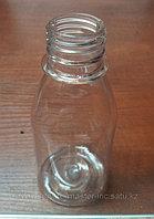 Бутылка PET 100 мл прозрачная круглая+крышка