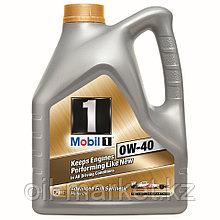 Масло моторное Mobil 1 0W40 (4л) синтетическое