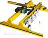 Кран мостовой опорный двухбалочный г/п 10 т управление с кабины