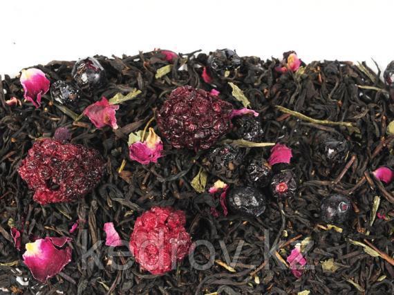 Чай Граф Гренадин (черный рассыпной листовой крупный ароматизированный) 0,5 кг