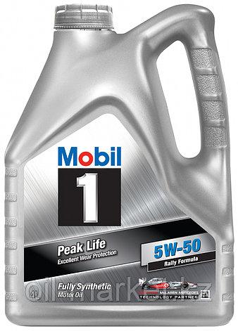 Масло моторное Mobil 1 5W50 (4л) синтетическое, фото 2