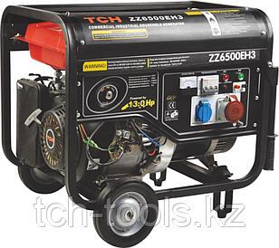 Бензиновый генератор 5.5 кВт 380В