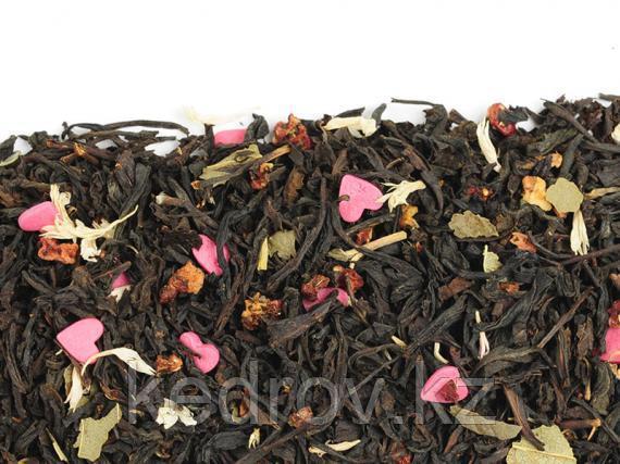 Чай Земляничное варенье (черный листовой крупный ароматизированный) 0,5 кг