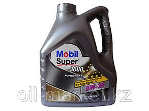 Моторное масло Mobil Super™ 3000 fe special 5w30 4л синтетическое