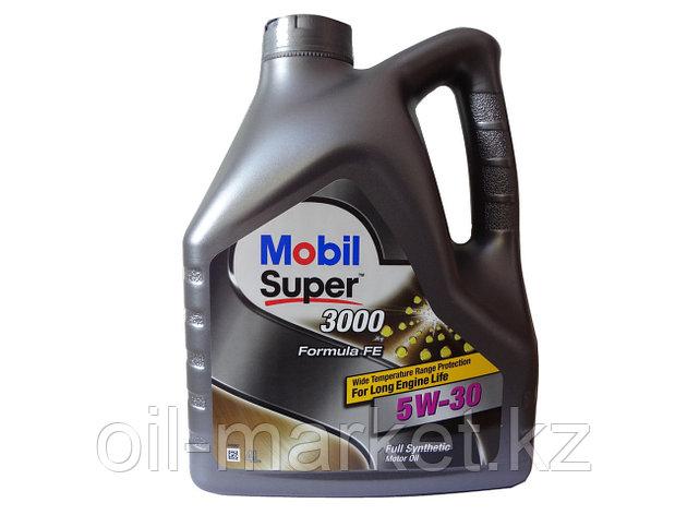 Моторное масло Mobil Super™ 3000 fe special 5w30 4л синтетическое , фото 2