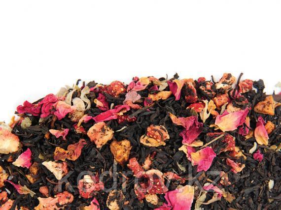 Чай Земляничный бисквит (черный ароматизированный) 0,5 кг