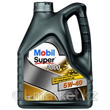 Моторное масло Mobil Super™ 3000 X1 5W-40 4л синтетическое