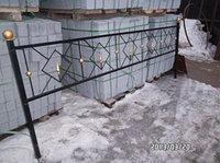 Ромб на оградке, фото 1