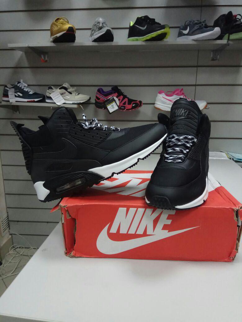 Зимние кроссовки Nike Air Max Sneaker boots ( 36-40 )