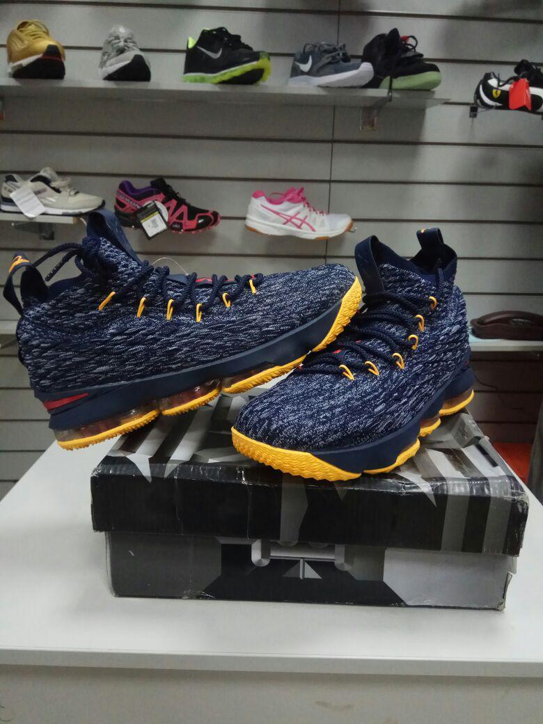 Баскетбольные кроссовки Nike Lebron 15 (XV) from LeBron James черно-серые