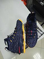 Баскетбольные кроссовки Nike Lebron 15 (XV) from LeBron James черно-серые, фото 2