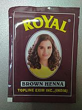 Индийская хна Royal Henna цвет Коричневый, Brown
