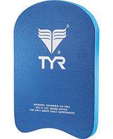 Доска для плавания детская TYR Junior Classic Kickboard цвет 420 Голубой