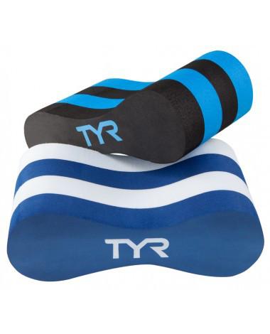 Колобашка для аквааэробики TYR Classic Pull Float цвет 011 Черный/Голубой