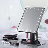 Косметическое зеркало с подсветкой LED MIRROR, фото 2