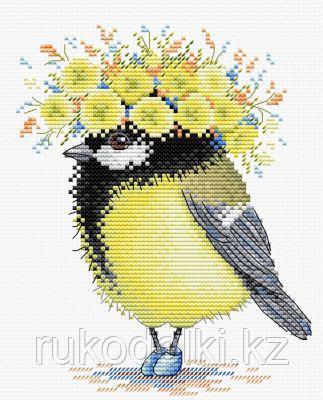 """Набор для вышивания крестом """"Солнечная пташка"""""""