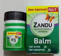 Бальзам Занду (Zandu Balm) - обезболивающее, противовоспалительное, антисептическое, противоревматическое,10мл