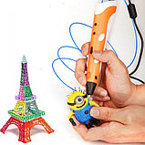 3D ручка 2 поколения для рисования С LCD Дисплеем, фото 3