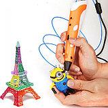 3D Ручка 3-го поколения с трафаретами и пластиком в комплекте., фото 7