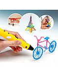 3D Ручка 3-го поколения с трафаретами и пластиком в комплекте., фото 9