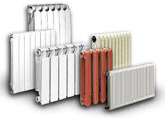 Радиаторы отопления (биметаллические, алюминиевые, чугунныне)