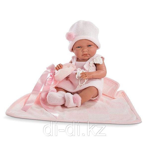 LLORENS Кукла малышка Ника 38 см с одеялом