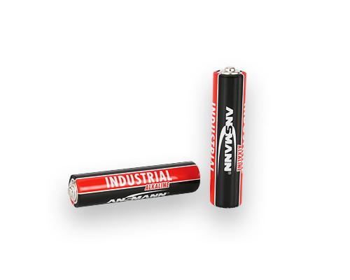 Батарейка щелочная ANSMANN AAA Industrial Alkaline LR03 1 шт.