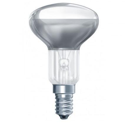 Лампа накаливания Camelion R50 E14 40W зеркальная 40/R50/E14