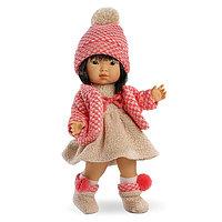 LLORENS Кукла Валерия 28 см азиатка в розовом костюме, фото 1