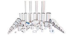 Канализационные трубы и фитинги(ПВХ)
