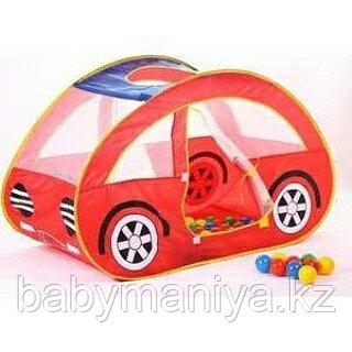 Детский домик + 100 шаров Calida Автомобиль
