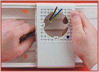 DKC PDA-N 100 Рамка-суппорт для электроустановочных изделий 60х60 мм
