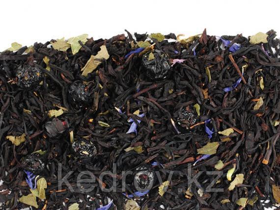 Чай Черника в йогурте (черный ароматизированный) 0,5 кг