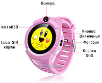 Часы GPS трекер для детей Q360 (Оригинал) Сенсорный экран!