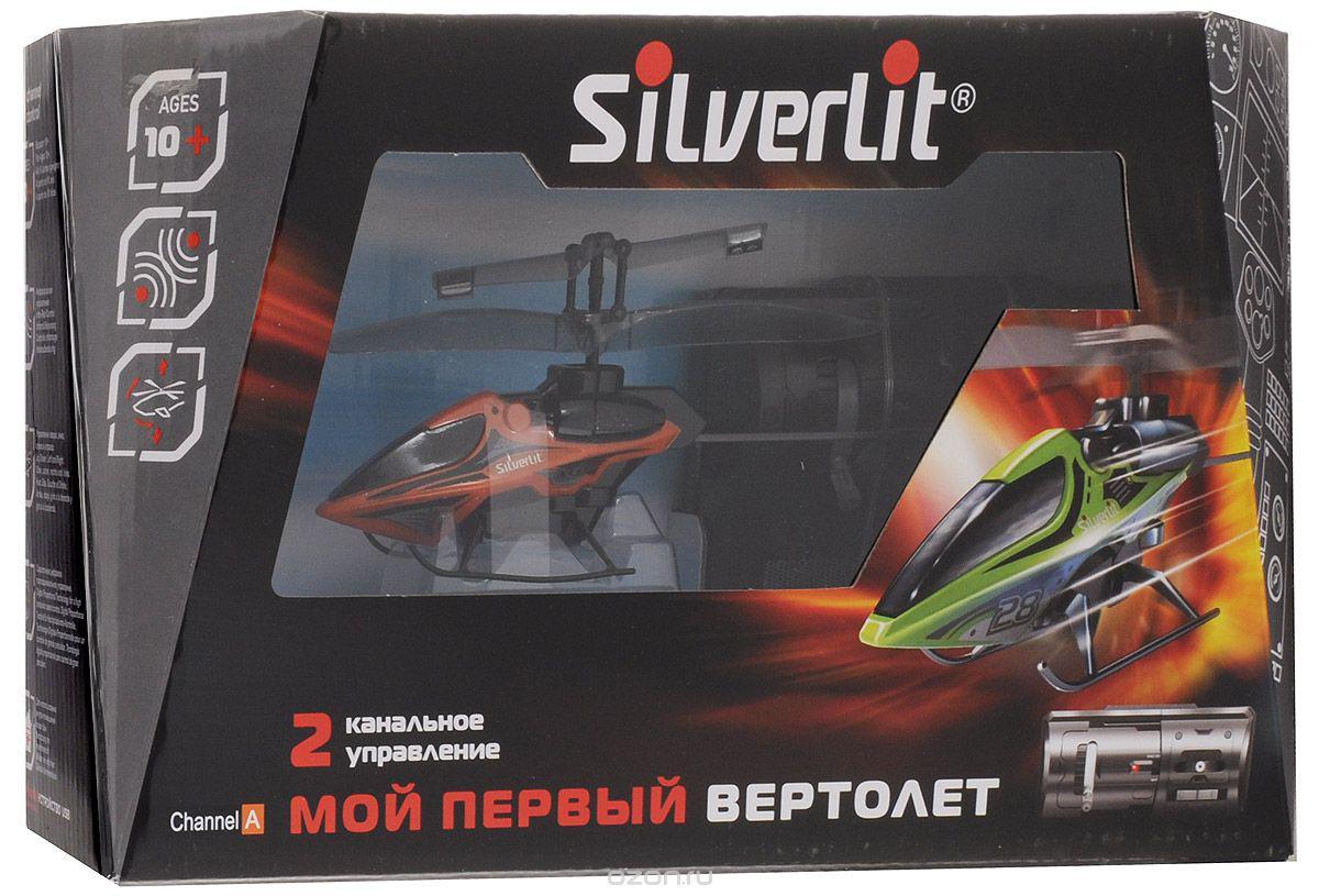 Радиоуправляемый Вертолет SILVERLIT 2х канальный мой первый вертолет