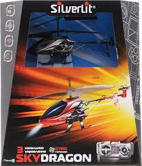 Радиоуправляемый Вертолет  SILVERLIT 3х канальный Sky Dragon с гироскопом