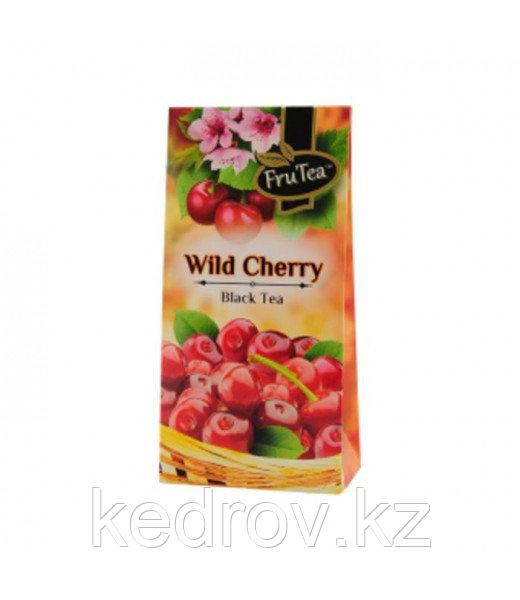 Чай Дикая вишня (черный), 50 гр, картон