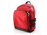 Cпортивный рюкзак с большим карманом красный
