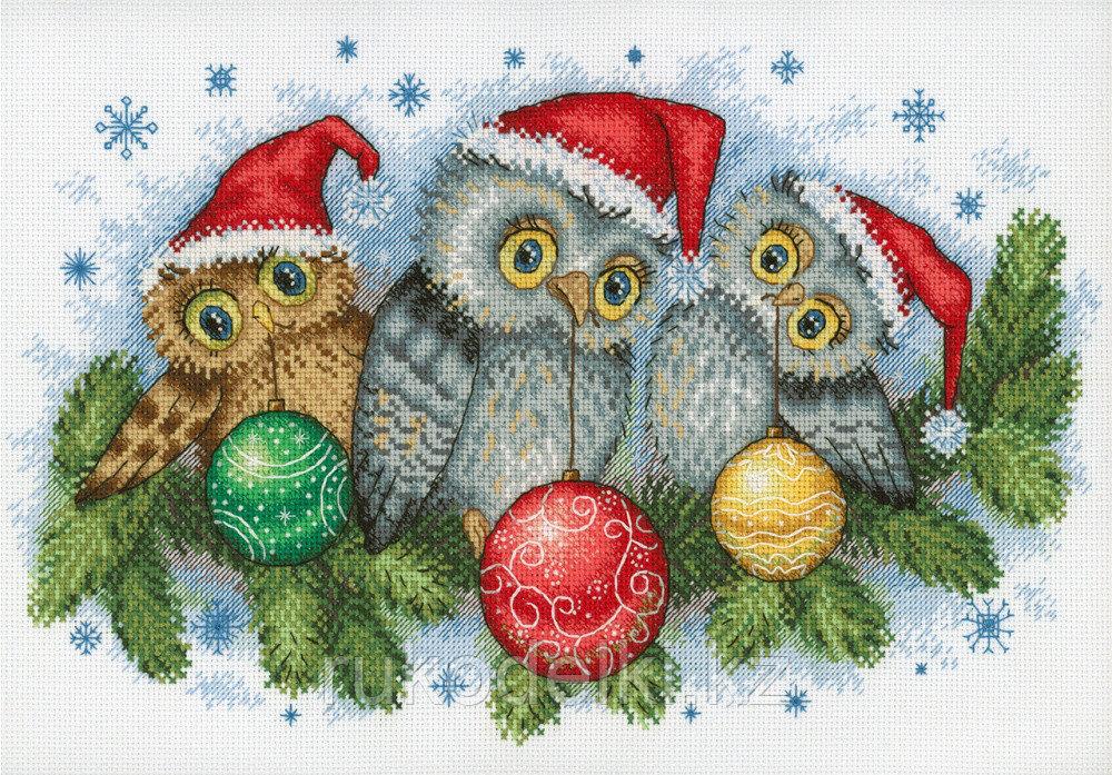 """Набор для вышивания крестом """"Рождественские помощники"""""""