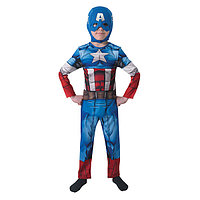 Костюм детский карнавальный. Капитан Америка. Классик
