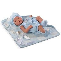 LLORENS Кукла малыш Нико 38 см с одеялом, фото 1