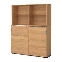 Шкаф для хран с раздв дверц ГАЛАНТ дубовый шпон ИКЕА, IKEA