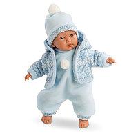 LLORENS Кукла малыш 30 см в голубом костюме, фото 1