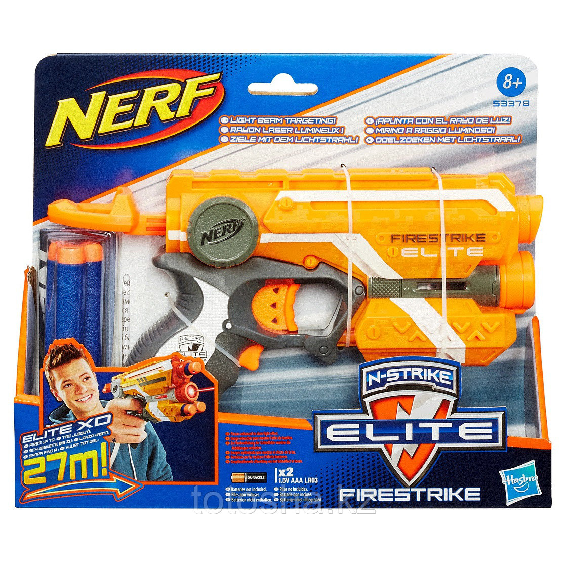 Бластер Nerf Elite Firestrike Нёрф Элит Файерстрайк , 53378