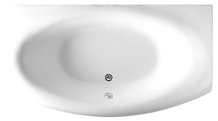 Акриловая ванна Нега (170*94)(Левая) (Полный комплект) Ассиметричная. Угловая, фото 2