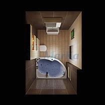 Акриловая ванна Диана  (170*100)(Правая) (Полный комплект) Ассиметричная. Угловая, фото 3