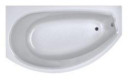 Акриловая ванна Дамелия 150*90 (Левая) (Полный комплект) Ассиметричная. Угловая
