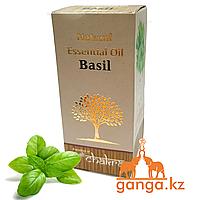 Натуральное эфирное масло Базилика (Natural Essential Oil Basil CHAKRA), 10 мл